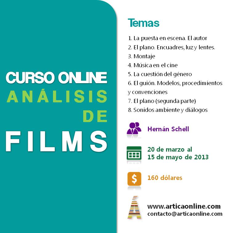 Análisis de films - Marzo 2013