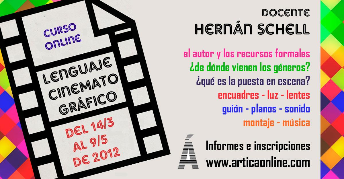 Curso online Lenguaje Cinematográfico