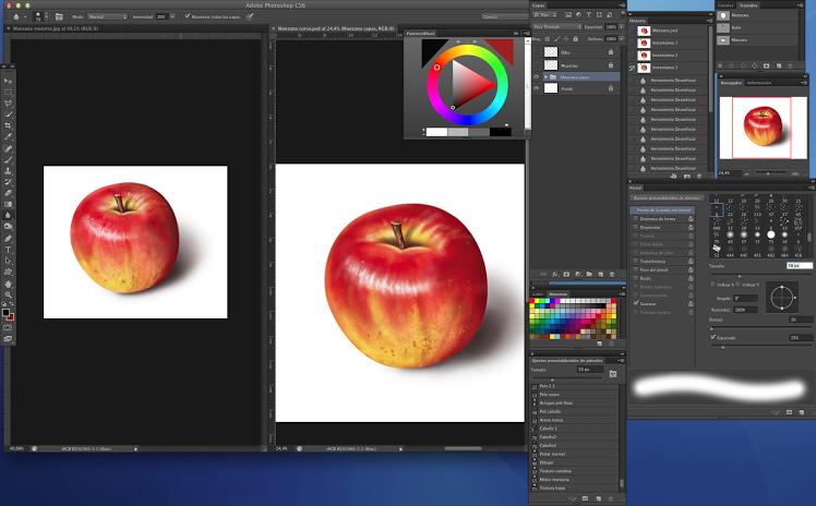proceso pintura digital