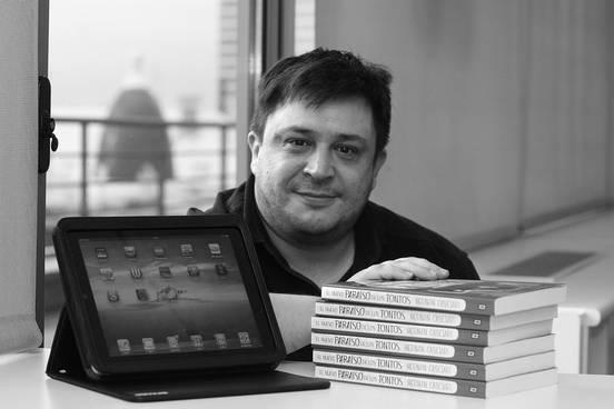 Hernán Casciari. Foto: Danny Caminal, publicada en La Diaria.