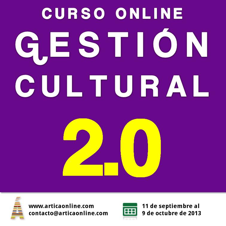 flyer gestión cultural septiembre 2013
