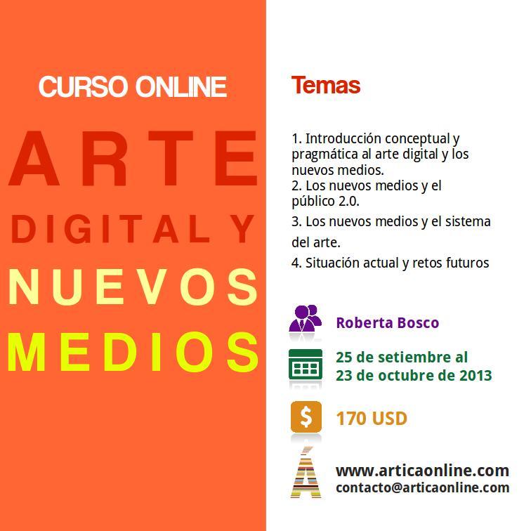 flyer arte digital nuevo