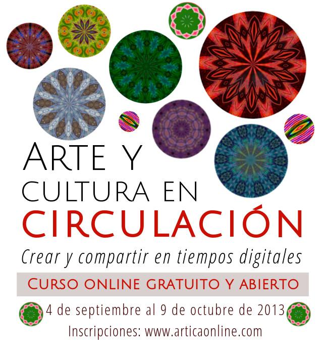 flyer arte y cultura en circulación 2013