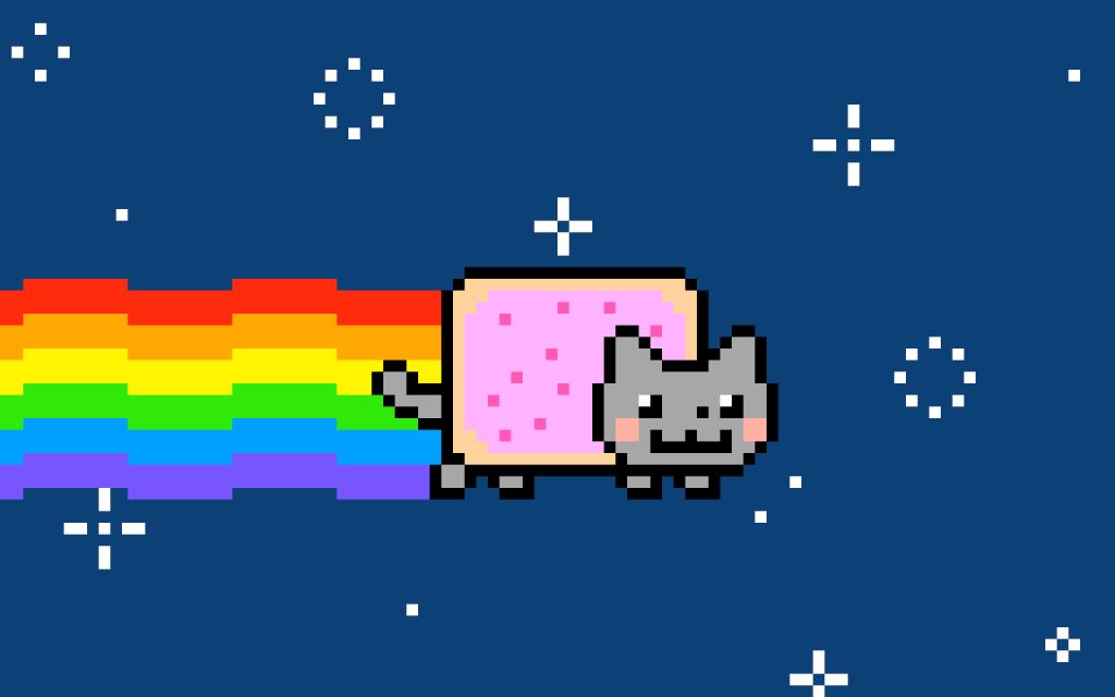 Nyan Cat, uno de los virales más famosos, con más de 100 millones de reproducciones