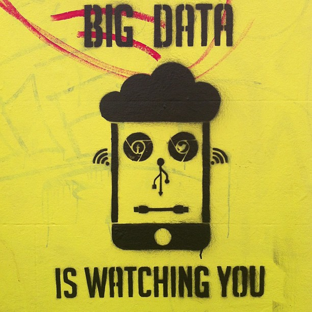 Big Data is watching you. De Jeremy Keith en Flickr.