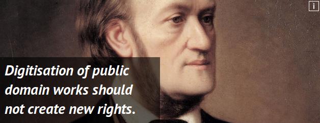 """""""La digitalización de obras del dominio público no crea nuevos derechos"""". Uno de los principios que promueve Communia."""