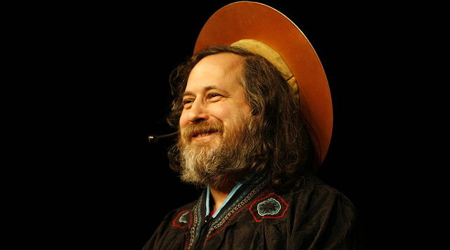 Richard Stallman by Anders Brenna