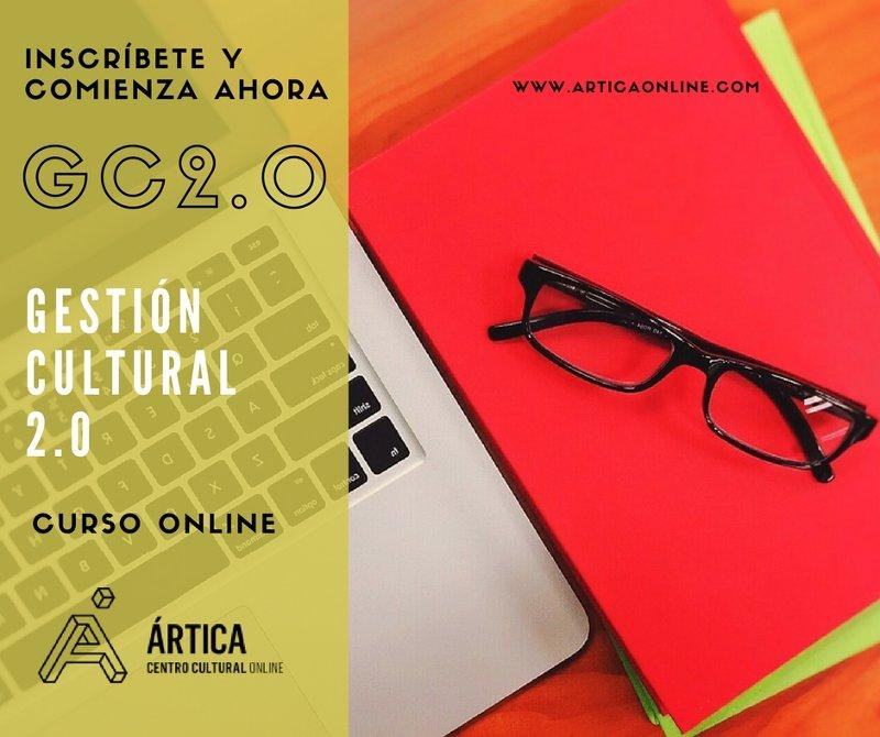 Flyer gestión cultural 2.0 2015