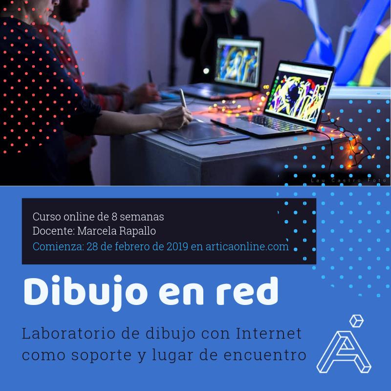 Laboratorio online de dibujo en red
